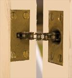 Automatic door closure