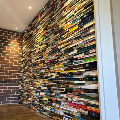 Paperback wall